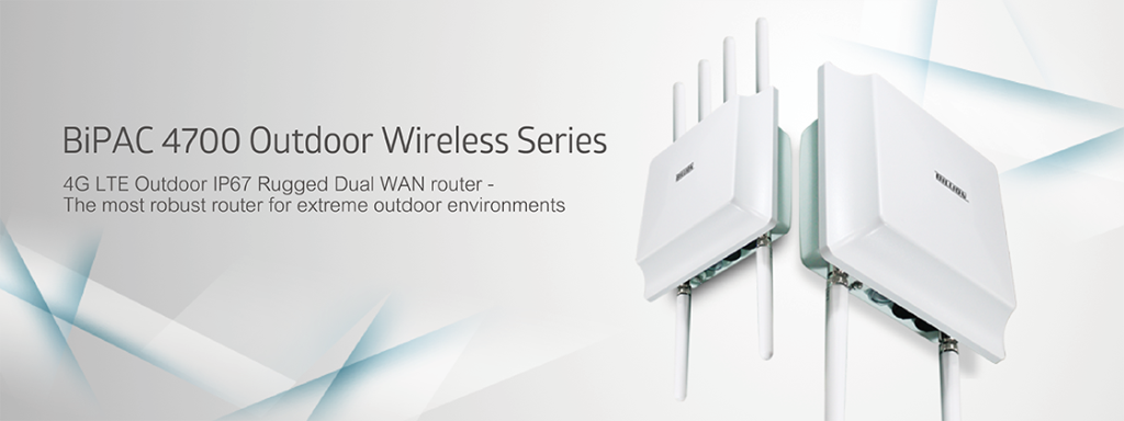 BiPAC 4700 Series 4G LTE Outdoor Router